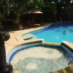 Pool view at Serenity Eco Guesthouse