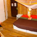 Om room at Serenity Eco Guesthouse