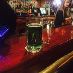 Green paddys day beer