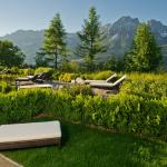 Terrasse Juniorsuite Wilder Kaiser