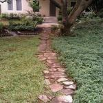 Path leading to second house