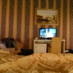 Panorama photo from our bed!