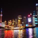 The bund at night is simply breathtaking.