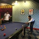 Billiards, & X-box at basement