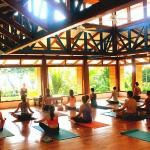 The yoga room is also very special and holds sacred energy.  The solar panels that power the res