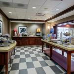 Enjoy a variety of hot and cold breakfast items at the Hampton Inn Middletown DE