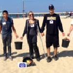 Our team hosts beach clean ups every quarter. Guests are welcome to join!!!