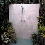 Waterfall House Outdoor Shower