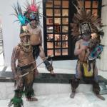 Some of the Mayan performers that came to our hotel