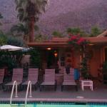 Beautiful mountain vistas from your pool lounger