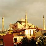 Hagia Sophia from our balcony