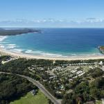 Aerial View of Active Holidays One Mile Beach