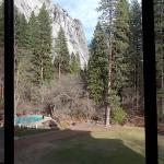 view from room 324 of pool and meadows