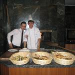 """always a nice surprise in the restaurant like  fresh  """"pide"""" (pita bread) with different delicio"""