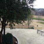 View from our 2nd floor room facing the back towards the golf course