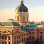 View from my room (Indiana State Capitol)