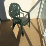 """The """"balcony furniture""""  One Chair"""