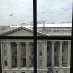 Fabulous Room: View of snowy Treasury Building