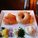 Killowatt breaakfast- Bagels and Lox- Delicious!!!