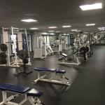 One part of the gym