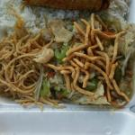 Daily special: chicken chow mein and lo mein.