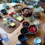 The organic breakfast spread