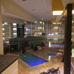 Beautiful indoor pool!!!  View from our balcony!