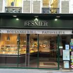 Besnier, 3 shops away from hotel entrance.