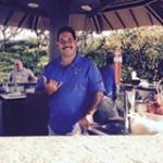 One of the friendly pool side cabana staff