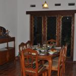 Nice dinning room setting for the 6 of us