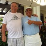 Adrian Miranda  is one of the most personable service people and reception person you can ever m
