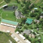 Arial View of the Lodge