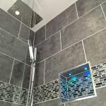 All our showers have high pressure water