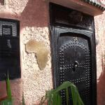 The front door of Riad Africa