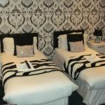 Recently Redecorated Room at the Sunnyside Bed and Breakfast in Southport
