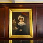Portrait of Mary Marshall, painted by Peter Laurens in 1830.  Currently hangs behind the front d