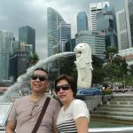 merlion at marina bay