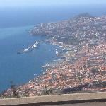 View of Funchal from Palheiro golf club
