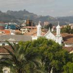 View of Cuenca from room
