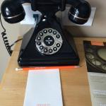 In room telephone (with a very funny message on its side)