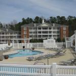 Grands and outdoor pool, one of three