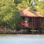 our villa ... took this from the dive boat