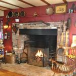 The Great Room hearth