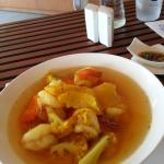 Kheng som that was way too spicy