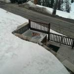 Deux Domaines - One of the outside hot tubs