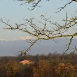 Snow on the Appenines