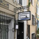 This is Marmara Guesthouse. I like its location.Very Europe. Very close to city's main attractio