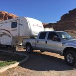 Moab Valley RV Resort.  March 24, 2015