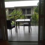 Balcony view - Room 22A