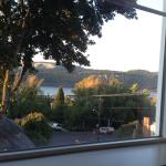 View from our room looking out over the Hood River and surrounding area